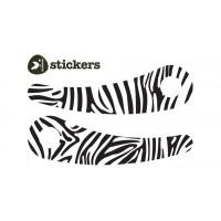 Wishbone nalepke zebra