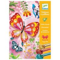 Djeco ukrasi leptire šljokicama