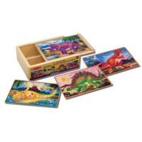 M&D puzzle u kutiji Dinosauri, 12 dijelova