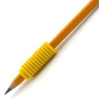 Nastavki za pisanje ridged foam grip 3ko