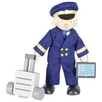 Goki lutka Pilot