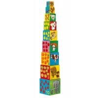 Djeco kocke stolp moji prijatelji
