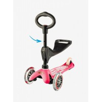 Micro Mini  3in1 Deluxe Scooter pink