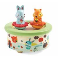 Djeco magnetna glasbena igrača živali