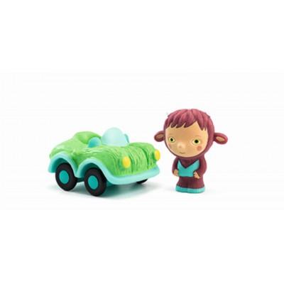 Djeco figurice Artychou Bolidachou in avtombil