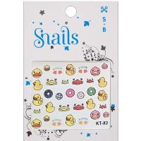 Snails nalepke za nohte Quack Quack