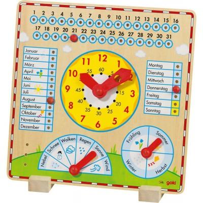 Goki otroški koledar skozi letni čas