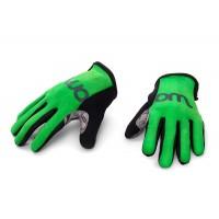 Woom kolesarske rokavice zelene