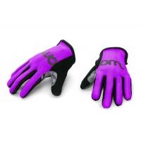 Woom kolesarske rokavice vijola