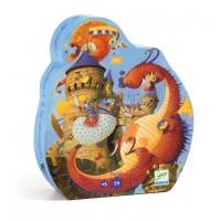 Djeco sestavljanka junak in zmaj