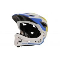 Kiddimoto IKON Helmet S 48-52 cm White/Blue