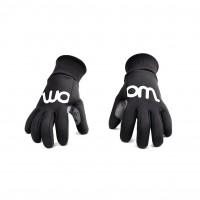 Woom kolesarske rokavice zimske črne
