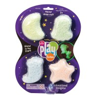Playfoam masa Glow in the dark 4 komada