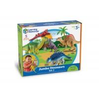 LR set jumbo dinozavrov 5 kos