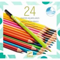 Djeco watercolour pencils 24 pcs