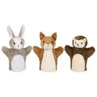 Goki ročna lutka gozdne živali