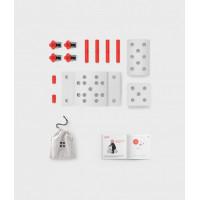 Modu modularni set Curiosity Rdeč