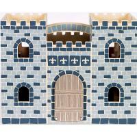 M&D drveni prijenosni dječji dvorac