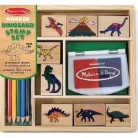M&D lesene štampiljke Dinozavri
