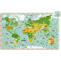 Sestavljanka Okoli sveta, 200 kosov