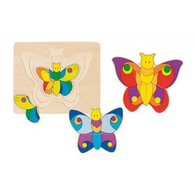 Puzzle metuljčki